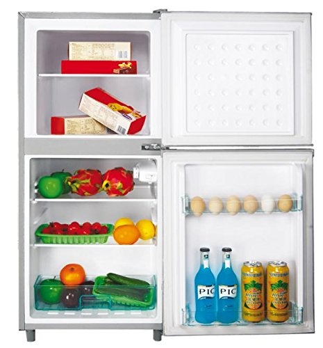 DCG Eltronic MF1110 CDP Libera installazione 110L A+ Argento frigorifero con congelatore