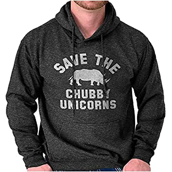 Save The Chubby Unicorns Fantasy Hoodie Sweatshirt Women Men Dark Heather