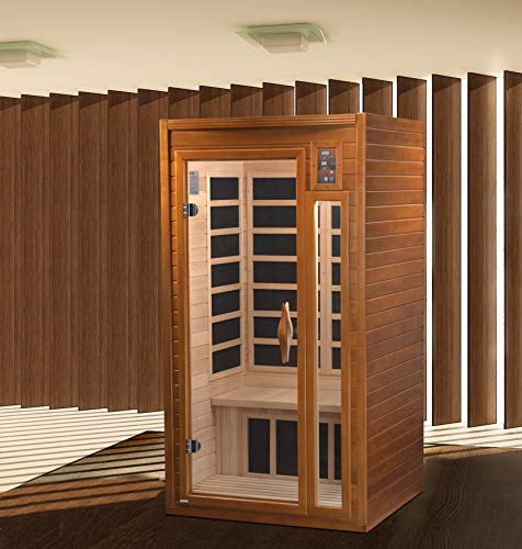 2021 Dynamic Barcelona Elite DYN-6106-01 Ultra Low EMF (Under 3 MG) FAR Infrared Sauna - Curb Side Delivery