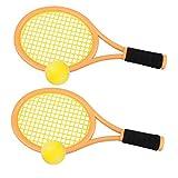 Best Kids Tennis Rackets - Kids Tennis Racket Set with Ball,Plastic Tennis Racquet Review
