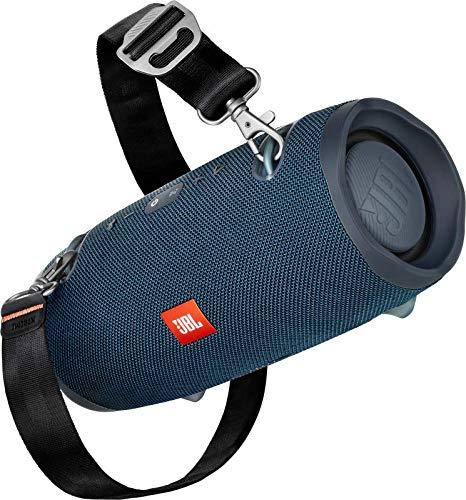 JBL Xtreme 2 - Einzelner Bluetooth-Lautsprecher mit wiederaufladbarem Akku - wasserdicht - Tragegurt enthalten - blau
