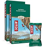 CLIF BARS - Energy Bars - Oatmeal Raisin Walnut - Made with Organic Oats - Plant Based Food - Vegetarian - Kosher (2.4 Ounce Protein Bars, 24 Count)