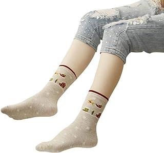 Calcetines De Las Navideño Impreso Señoras Algodón Mezclado Dibujos Mode De Marca Animados Papá Noel Árbol De Navidad Alces Calcetines Con Sombrero Gratis