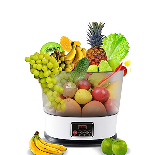 Groenten en fruit Wasmachine, 10L grote capaciteit Huishoudelijke Ozon Groente en Fruit schoonmaken, verwijderen schadelijke stoffen, zorg voor de gezonde groei van Family