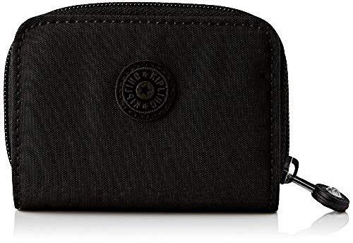 Kipling Tops, Wallets Unisex Adulto, Color negro, 2.5x7.5x10 cm (LxWxH)