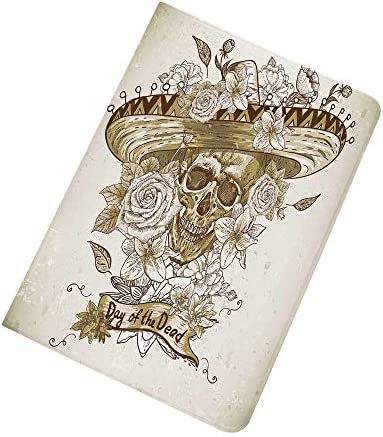 Day of The Dead iPad Air 2 iPad Air Case Wooden Floral Leaves with Mexican Spanish Festival product image