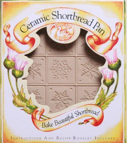 Brown Bag Snowflake Shortbread Cookie Pan