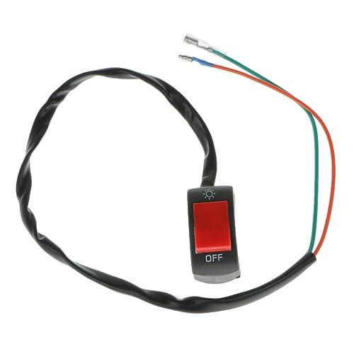Generic Fog Light Switch Handle Bar Electrical System (12V)