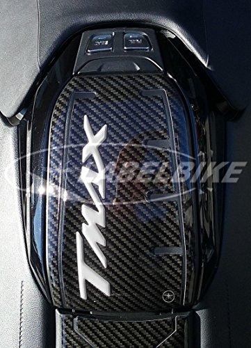 PROTECCIÓN DE Puerta del Tanque DE Resina 3D para Moto Compatible con Yamaha TMAX 530 2017
