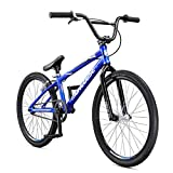 Mongoose Unisex-Adult Title 24 Race Cruiser, BMX Racing, Blue, one Size