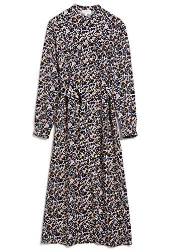 ARMEDANGELS BEANTAA Springtime Happiness - Damen Kleid aus LENZING™ ECOVERO™ M Kitt Kleider Web, Dresses Woven Regular fit