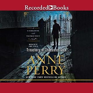 Treachery at Lancaster Gate audiobook cover art