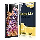 UniqueMe [2 Stück] Schutzfolie für Samsung Galaxy Xcover
