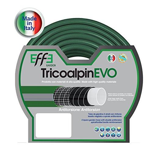 EFFE Tubo da Giardino antitorsione Professionale 5/8 Pollici, mt 50 di Tubo...