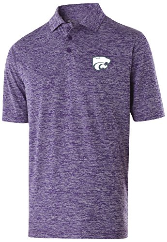 NCAA Kansas State Wildcats Adult Men Holloway Electrify 2.0 Polo  X-Large