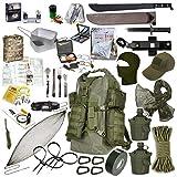 Fluchtrucksack EXTREM Prepper Rucksack Krisenvorsorge Überlebensrucksack #34043