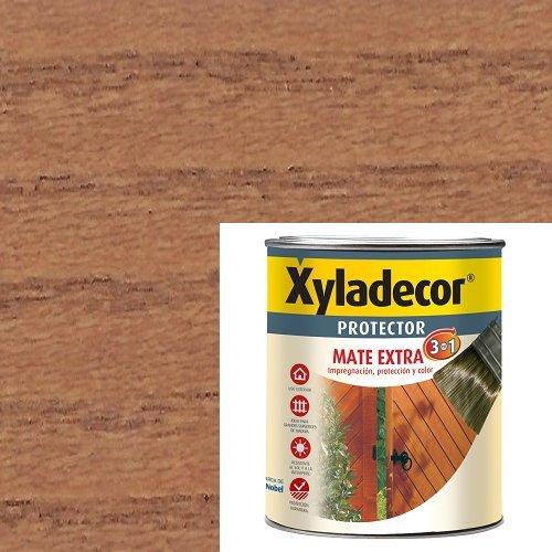 Xyladecor 5088077 PROTECTORMATE Extra 3EN1 750 ML, MATE TECA