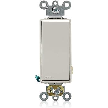 Leviton 5628 2t Light Almond Wall Light Switches Amazon Com
