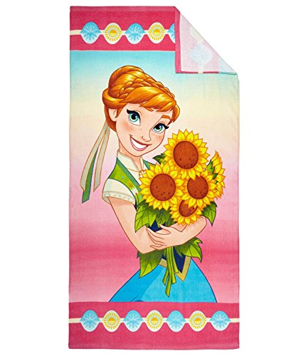 Disney El reino del hielo Chicas Toalla de playa - fucsia -