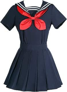 Himiko Toga Cosplay Costume My Hero Academia Sweater Sailor Dress Oufit