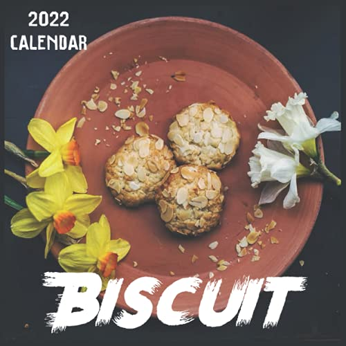 Biscuit Calendar 2022: 2021-2022 Biscuit Weekly & Monthly Planner   2-Year Pocket Calendar   19 Months   Organizer   Agenda   Appointment   For Biscuit Lovers