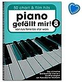Piano séduit mignon ! Livre de musique pour piano - 50 titres actuels et chansons de...