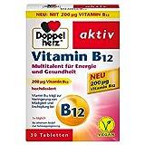 Doppelherz Vitamin B12 – Energie und Leistungsfähigkeit für Körper und Geist – Vitamin B12...