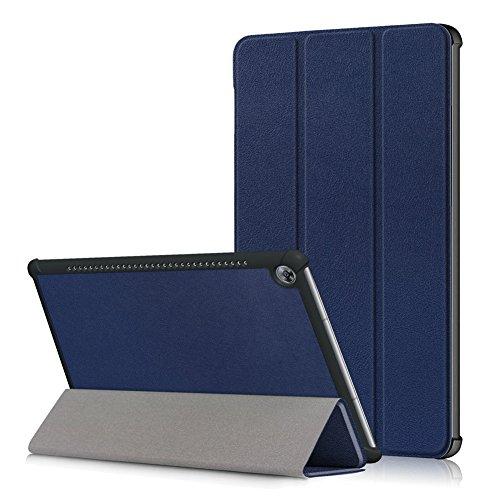 Kepuch Custer Hülle für Huawei MediaPad M5 10.8 CMR-AL09 CMR-W09,Smart PU-Leder Hüllen Schutzhülle Tasche Hülle Cover für Huawei MediaPad M5 10.8 CMR-AL09 CMR-W09 - Blau