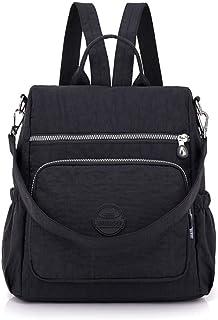 Women Casual Bag Plaid Shoulder Bag Lightweight Cloth Crossbody Bag Large Capacity