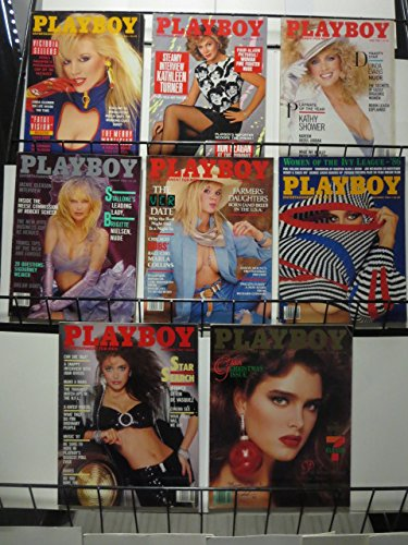 PLAYBOY 1986 Set of 8 ISSUES