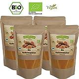 Granvero, Bio Kurkumapulver , 1000 g im wiederverschließbaren Standbodenbeutel, (4 X 250 g), DE-ÖKO-006, vegan