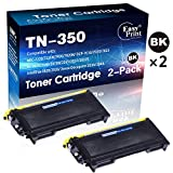 2-Pack of Black Compatible TN-350 Toner Cartridge TN350 Used for Brother IntelliFax-2820 2920 MFC-7220 MFC-7420 MFC-7820N Printer, Sold by EasyPrint