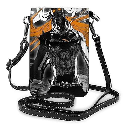 XCNGG Monedero pequeño para teléfono celular Bleach Crossbody Bags for Women's Crossbody Handbags Cell Phone Purse Waterproof Leather Handbags Small Wallet