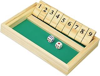 SEEDSTONE シャットザボックス ボードゲーム 木製 おもちゃ