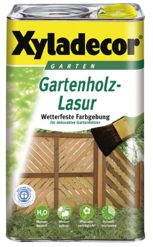 Xyladecor Gartenholz-Lasur wasserbasierend Farbe: Kiefer ~ 750 ml