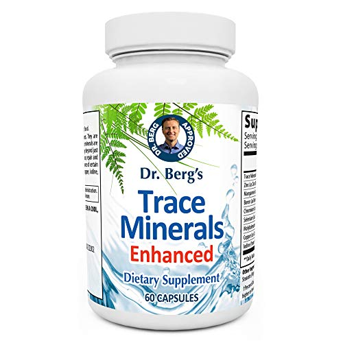 Dr. Berg's Trace Minerals Enhanced Complex - Complete with 70+...