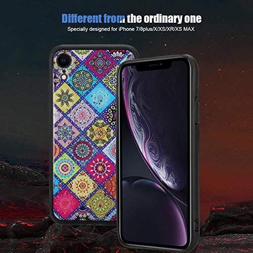 『カバー、快適な手触りの電話ケース、TPU素材の衝撃吸収性デザインにより携帯電話を保護(iphone XR)』の4枚目の画像