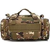 Wedo 3P Military Duffel Taille Tasche, MOLLE-Fahrrad/Motorrad Wasserdicht Fanny Packungen Kamera...