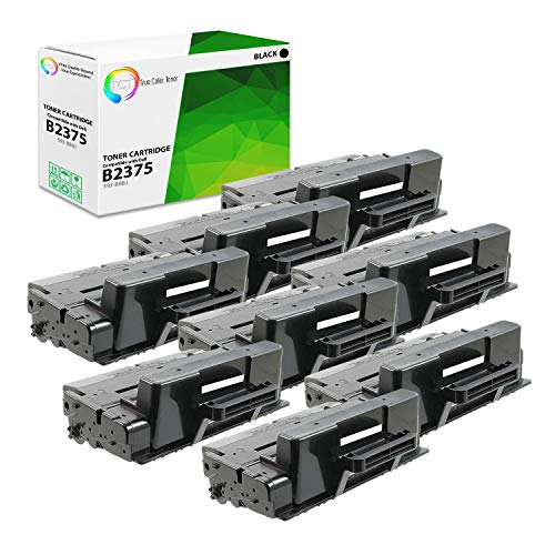 TCT Premium Compatible Toner Cartridge Replacement for Dell 593-BBBJ Black High Yield Works with Dell B2375DNF B2375DFW Printers (10,000 Pages) - 8 Pack