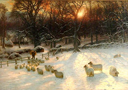 The Shortening Winter's Day is Near a Close by Joseph Farquharson - 21