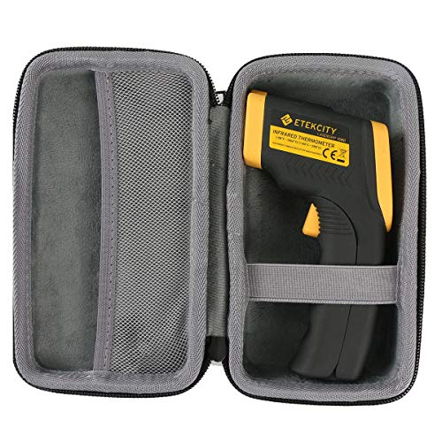 co2CREA Tasche für Etekcity Lasergrip 1080 Digital Laser Infrarot Thermometer IR Pyrometer berührungslos TemperaturmessgerätHülle Case Etui Tragetasche(travel case)