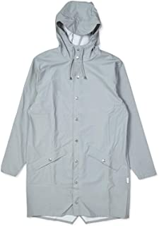 RAINS Long Jacket Grey