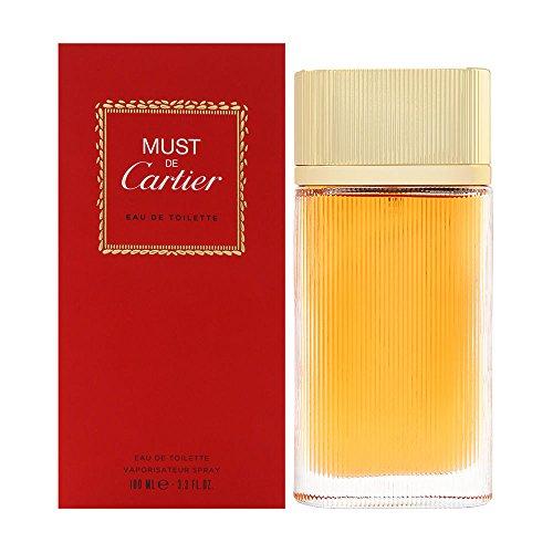 Must de Cartier by Cartier for Women 3.3 oz Eau de Toilette Spray