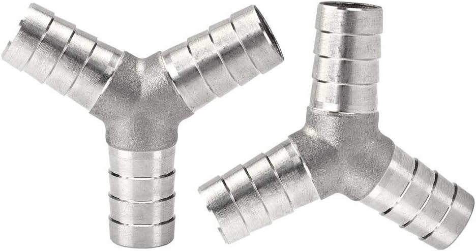 Metalwork 304 Stainless Max 63% OFF Steel Hose Barb 3 Y Fitting Popular popular Tee 4