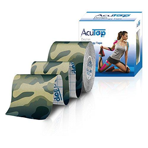 AcuTop Design Kinesiology Tape Grün Camo