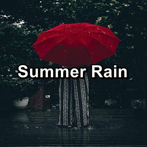 Lightning, Thunder and Rain Storm, Rain Meditation & Rain Shower Spa