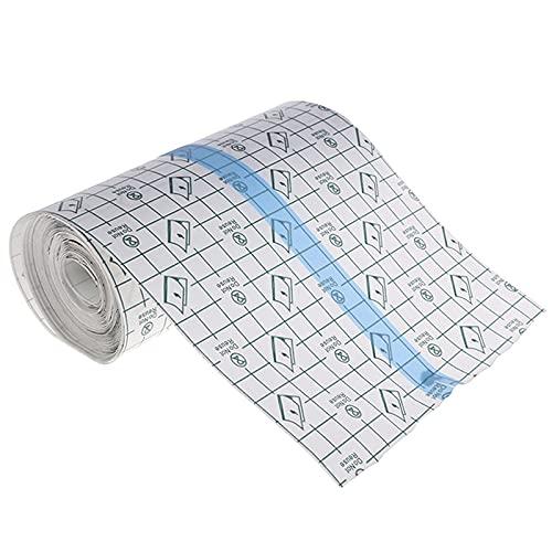 Tatuaje Aftercare Vendaje adhesivo impermeable 2 m x 15 cm, piel curativa cinta película protectores transparentes elásticos antibacterianos para heridas