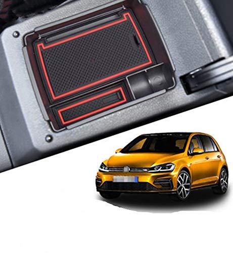 Aufbewahrungsbox Für V W Golf 7 Auto Konsole Armlehne Tablett Halter Hülle Palette Rutschfeste Handschuhfach Storage Box Innen