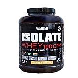Weider Isolate Whey 100CFM. 100% aislado de proteina de suero. Cero azúcar, cero aspartamo, con stevia, con dygezime, con BCAA, apto para vegetarianos. Isolac. Para dietas keto. 908gr Sabor Vainilla