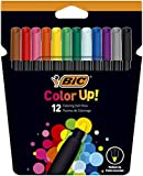 BIC Color Up Rotuladores de Colorear - Colores Surtidos, Pack de 12